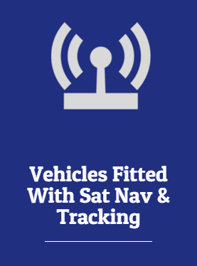 Vehicles Fitted With SatNav & Tracking